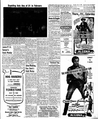 The Algona Upper Des Moines from Algona, Iowa on February 7, 1957 · Page 15