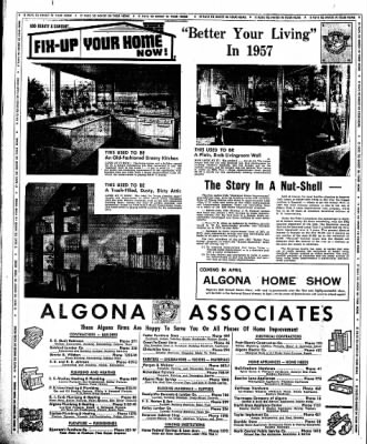 The Algona Upper Des Moines from Algona, Iowa on February 7, 1957 · Page 16