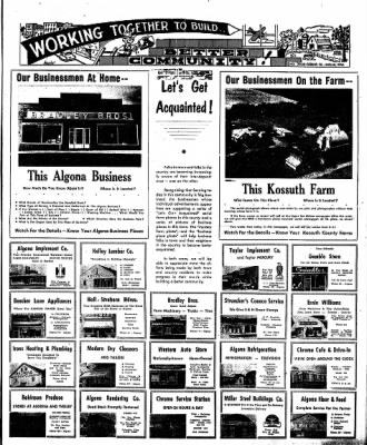 The Algona Upper Des Moines from Algona, Iowa on February 7, 1957 · Page 19