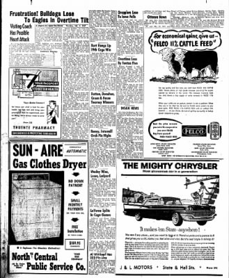 The Algona Upper Des Moines from Algona, Iowa on February 7, 1957 · Page 22