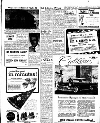 The Algona Upper Des Moines from Algona, Iowa on February 14, 1957 · Page 29