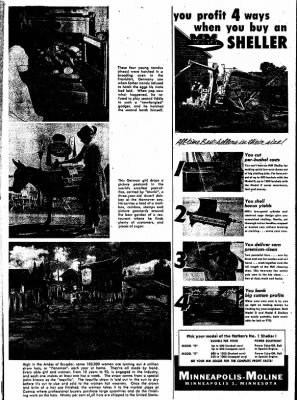 The Algona Upper Des Moines from Algona, Iowa on February 14, 1957 · Page 40