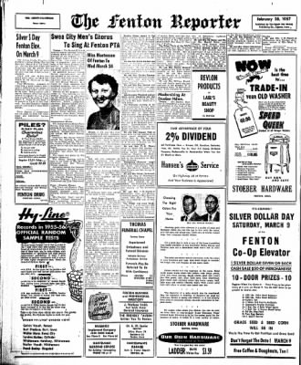 The Algona Upper Des Moines from Algona, Iowa on February 28, 1957 · Page 12
