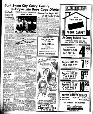 The Algona Upper Des Moines from Algona, Iowa on March 7, 1957 · Page 8