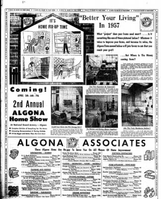 The Algona Upper Des Moines from Algona, Iowa on March 7, 1957 · Page 20