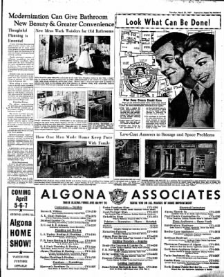 The Algona Upper Des Moines from Algona, Iowa on March 21, 1957 · Page 19