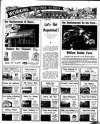 The Algona Upper Des Moines from Algona, Iowa on March 28, 1957 · Page 17