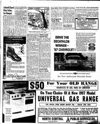 The Algona Upper Des Moines from Algona, Iowa on March 28, 1957 · Page 19