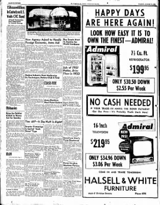 The Courier News from Blytheville, Arkansas on August 3, 1951 · Page 8