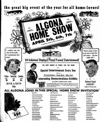 The Algona Upper Des Moines from Algona, Iowa on March 28, 1957 · Page 24