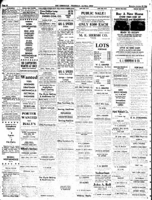 The Chronicle Telegram From Elyria Ohio On October 28 1944 Page 10