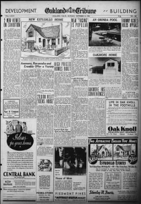 Oakland Tribune from Oakland, California on October 11, 1936 · Page 27