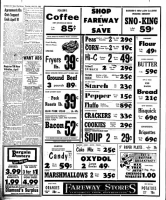 The Algona Upper Des Moines from Algona, Iowa on April 25, 1957 · Page 6