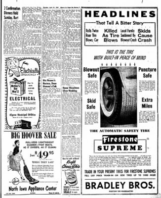 The Algona Upper Des Moines from Algona, Iowa on April 25, 1957 · Page 15