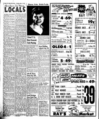 The Algona Upper Des Moines from Algona, Iowa on May 2, 1957 · Page 8