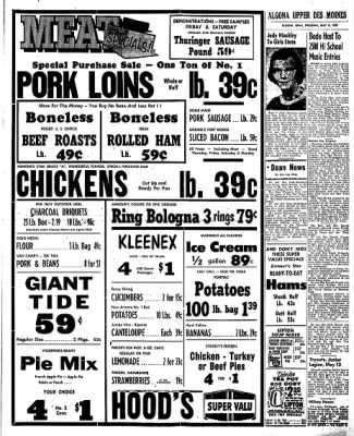 The Algona Upper Des Moines from Algona, Iowa on May 9, 1957 · Page 9