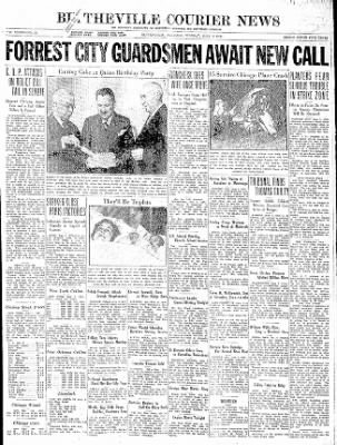 The Courier News from Blytheville, Arkansas on June 2, 1936 · Page 1