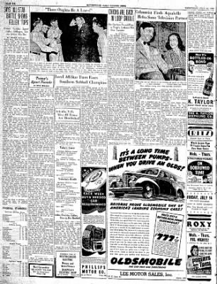 The Courier News from Blytheville, Arkansas on July 12, 1939 · Page 6