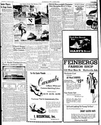 The Courier News from Blytheville, Arkansas on April 18, 1946 · Page 7