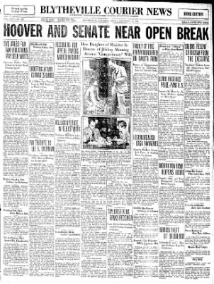 The Courier News from Blytheville, Arkansas on December 12, 1930 · Page 1