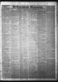 Sample The Arkansas Gazette front page