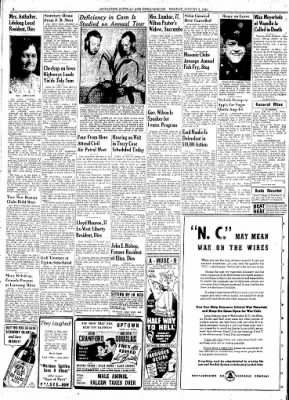 The Muscatine Journal and News-Tribune from Muscatine, Iowa on August 3, 1942 · Page 2