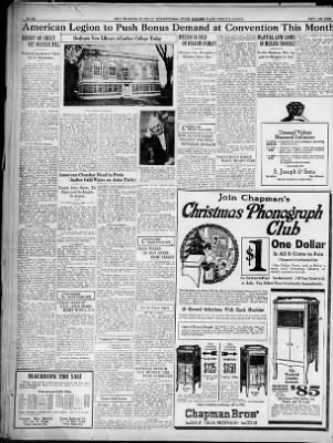 The Des Moines Register from Des Moines, Iowa on October 16, 1921 · Page 6