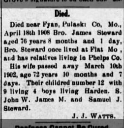 Rolla Herald from Rolla, Missouri on May 7, 1908 · Page 2