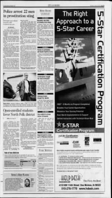 The Des Moines Register From Iowa On June 25 2001 Page 11