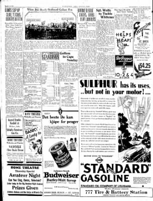 The Courier News from Blytheville, Arkansas on August 20, 1930 · Page 6