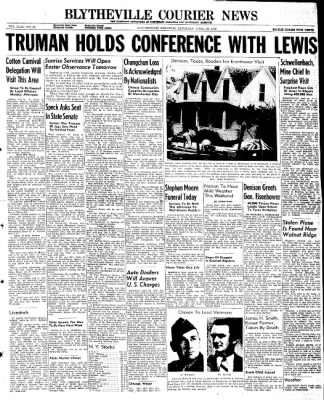 The Courier News from Blytheville, Arkansas on April 20, 1946 · Page 1