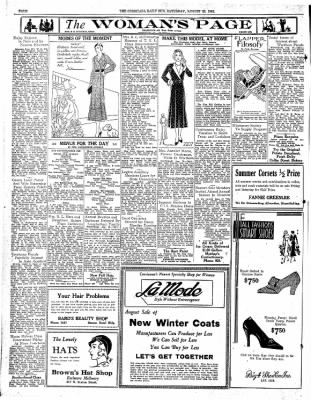 Corsicana Daily Sun from Corsicana, Texas on August 22, 1931 · Page 4