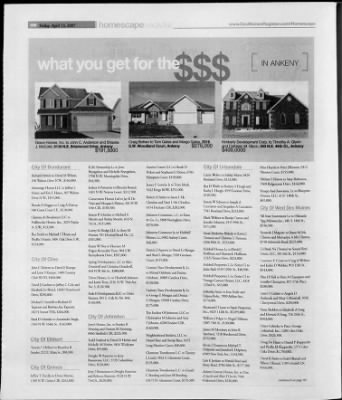 The des moines register from des moines iowa on april 13 2007 the des moines register from des moines iowa on april 13 2007 page 64 malvernweather Gallery