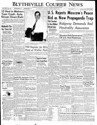 The Courier News from Blytheville, Arkansas on August 7, 1951 · Page 1