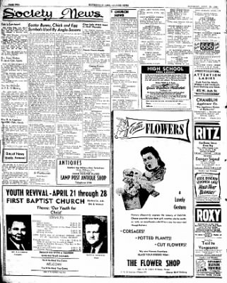 The Courier News from Blytheville, Arkansas on April 20, 1946 · Page 2