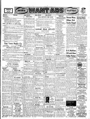 The Gilmer Mirror From Gilmer Texas On May 1 1958 Page 13