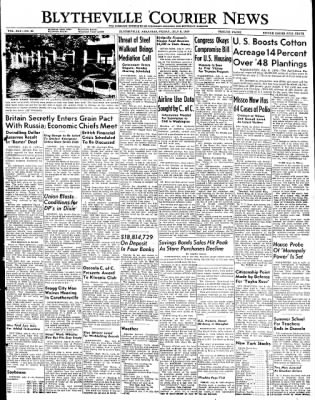 The Courier News from Blytheville, Arkansas on July 8, 1949 · Page 1