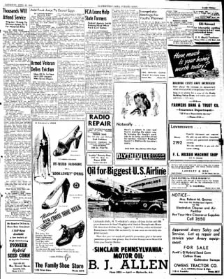 The Courier News from Blytheville, Arkansas on April 20, 1946 · Page 3