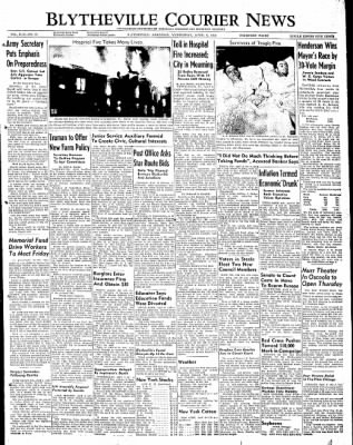The Courier News from Blytheville, Arkansas on April 6, 1949 · Page 1