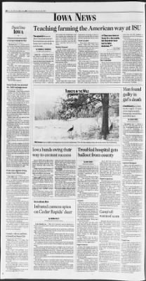 The Des Moines Register from Des Moines, Iowa on February 20, 1993 · Page 2