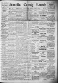 Sample Union Record front page
