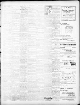 Walnut Valley Times From El Dorado Kansas On September 6 1901 Page 3