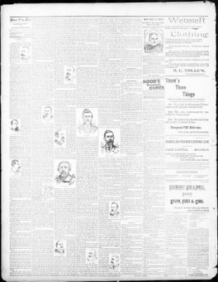 Walnut Valley Times From El Dorado Kansas On March 1 1895 Page 2