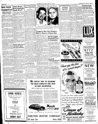 The Courier News from Blytheville, Arkansas on April 6, 1949 · Page 10