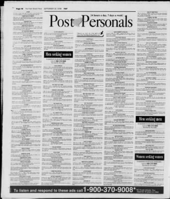 palm beach post personals