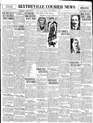 The Courier News from Blytheville, Arkansas on December 16, 1930 · Page 1