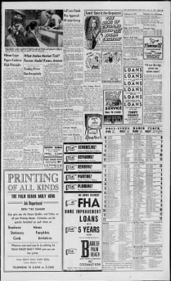 The Palm Beach Post from West Palm Beach, Florida on July 31, 1957