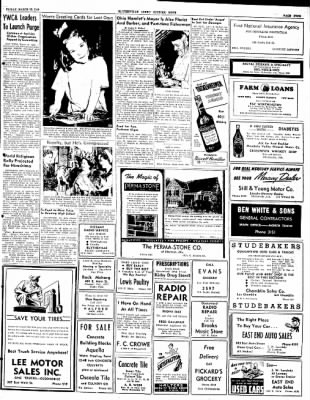 The Courier News from Blytheville, Arkansas on March 12, 1948 · Page 9