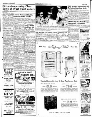 The Courier News from Blytheville, Arkansas on August 8, 1951 · Page 5