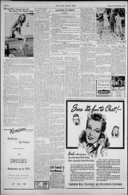 The Palm Beach Post From West Palm Beach Florida On May 19 1943 Page 6